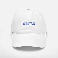 Owls-Max blue 400 Baseball Baseball Baseball Cap