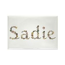 Sadie Seashells Rectangle Magnet
