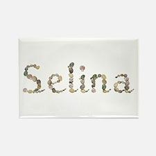 Selina Seashells Rectangle Magnet