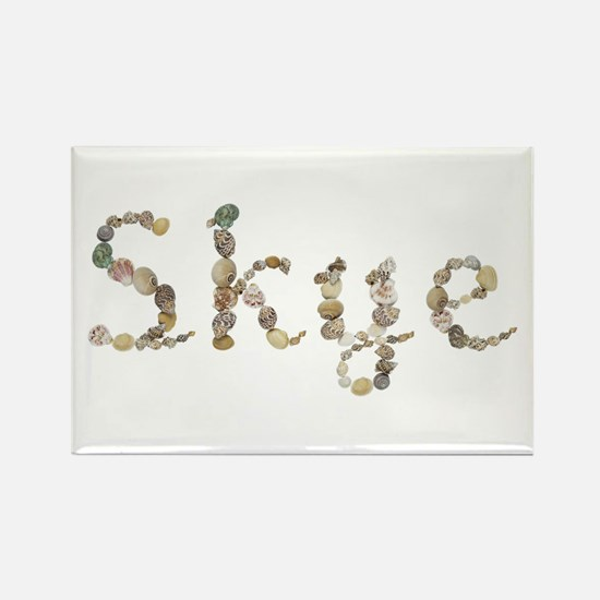 Skye Seashells Rectangle Magnet