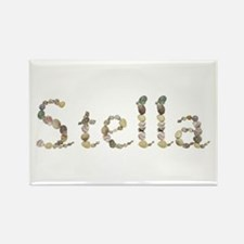 Stella Seashells Rectangle Magnet