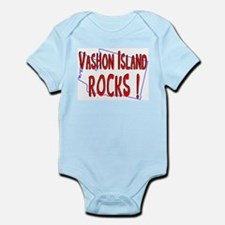 Vashon Island Rocks ! Infant Bodysuit