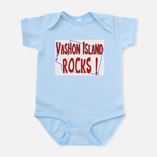Vashon Island Rocks ! Infant Bodysuit