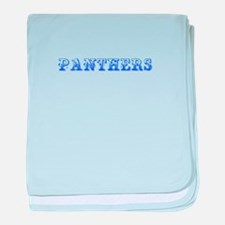 Panthers-Max blue 400 baby blanket