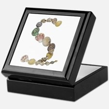 S Seashells Keepsake Box