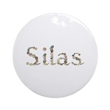 Silas Seashells Round Ornament