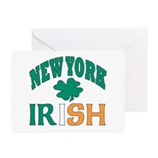 New York irish Greeting Cards (Pk of 10)