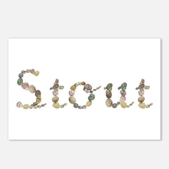 Stout Seashells Postcards 8 Pack