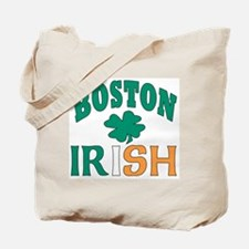 Boston irish Tote Bag