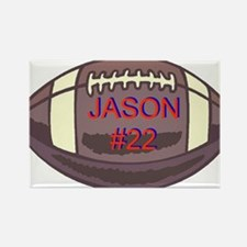 Personalized Sports Items Rectangle Magnet