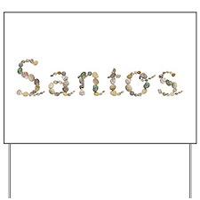 Santos Seashells Yard Sign