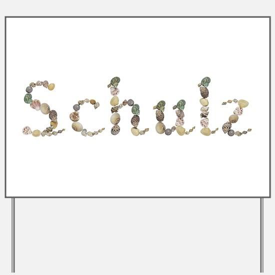 Schulz Seashells Yard Sign