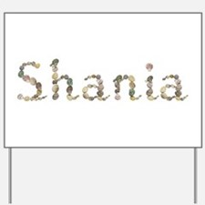 Shania Seashells Yard Sign