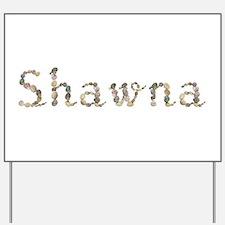 Shawna Seashells Yard Sign