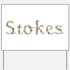 Stokes Seashells Yard Sign