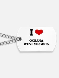 I love Oceana West Virginia Dog Tags