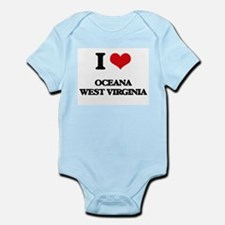I love Oceana West Virginia Body Suit