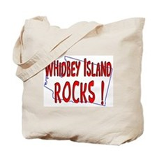 Whidbey Island Rocks ! Tote Bag