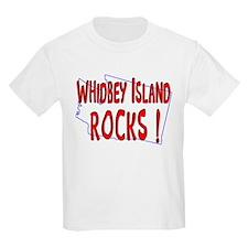 Whidbey Island Rocks ! T-Shirt