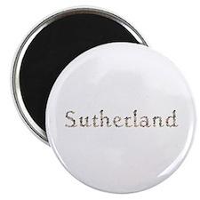 Sutherland Seashells Round Magnet 100 Pack