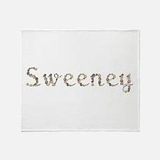Sweeney Seashells Throw Blanket