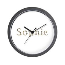 Sophie Seashells Wall Clock
