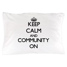 Keep Calm and Communism ON Pillow Case