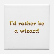 IRB Wizard Tile Coaster