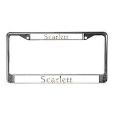 Scarlett Seashells License Plate Frame