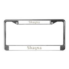 Shayna Seashells License Plate Frame