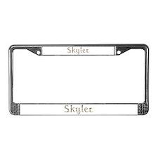 Skyler Seashells License Plate Frame