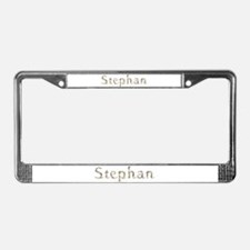 Stephan Seashells License Plate Frame