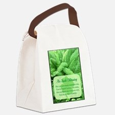 Happiness Be With You Canvas Lunch Bag