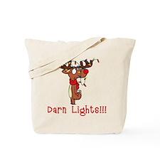 Darn Lights!!! Tote Bag