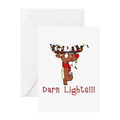 Darn Lights!!! Greeting Card