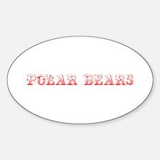 Polar Bears-Max red 400 Decal