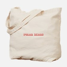 Polar Bears-Max red 400 Tote Bag