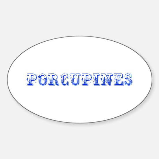 Porcupines-Max blue 400 Decal