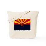 Arizona Flag Tote Bag