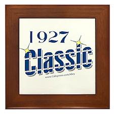 1927 CLASSIC Framed Tile