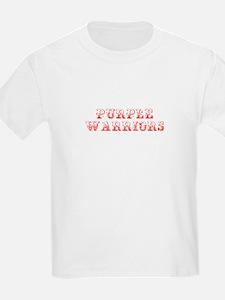 Purple Warriors-Max red 400 T-Shirt