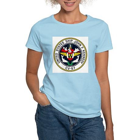 USS JOHN F. KENNEDY Women's Light T-Shirt