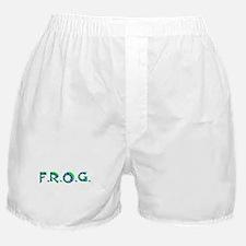 Aqua FROG Scales Boxer Shorts