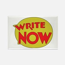 Write Now Rectangle Magnet
