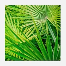 Funny Tropical Tile Coaster