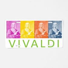 Vivaldi Aluminum License Plate