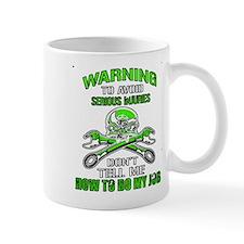 Mechanic Serious Injury Mugs