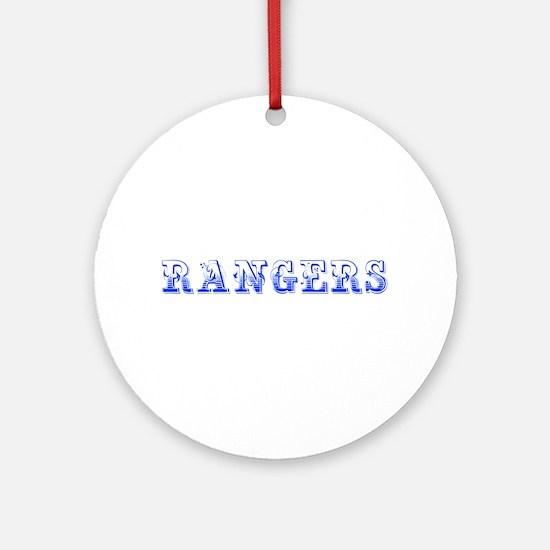 Rangers-Max blue 400 Ornament (Round)
