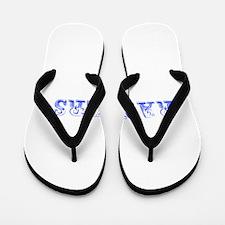 Rangers-Max blue 400 Flip Flops