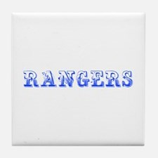 Rangers-Max blue 400 Tile Coaster